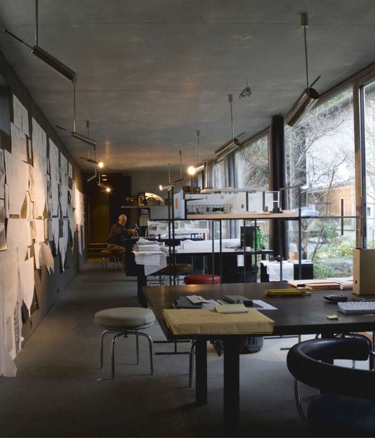 Innenarchitektur Graubünden wohn und atelierhaus haldenstein 2005 zumthor matériaux innenarchitektur