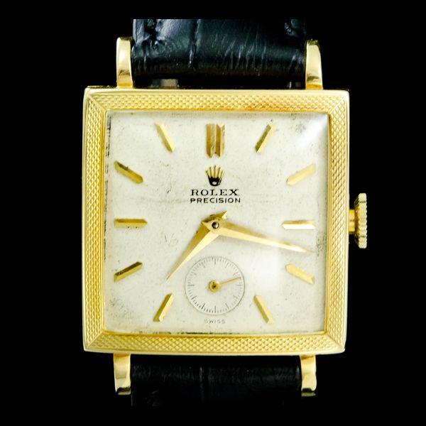 ROLEX-PRECISION Or jaune 18k. Disponible immédiatement sur notre site: http://www.joaillerie-royale.com/114-montres-vintage