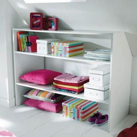17 best ideas about amenagement sous pente on pinterest for Meuble sous pente castorama