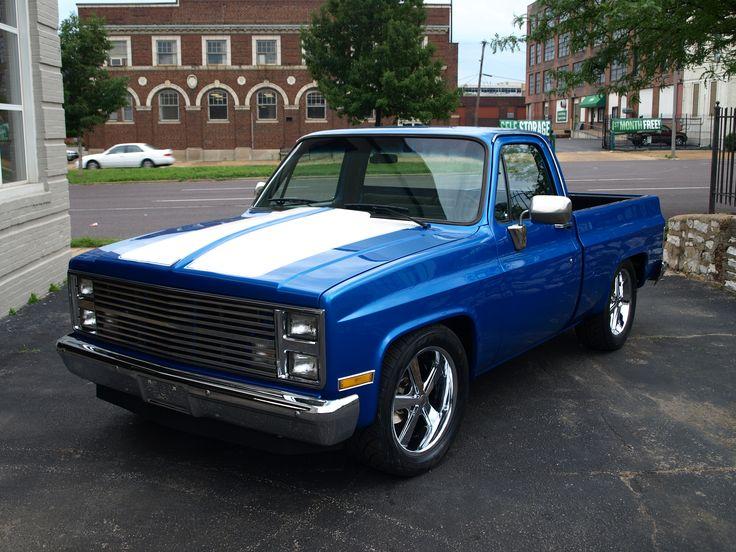 Custom 1987 Chevy Silverado