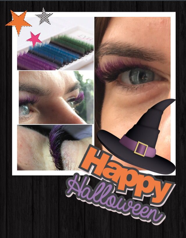 Wear them for Halloween Party or just because you love to add some fun and colour to your look! Purple  Green  or Blue  these are a great way of adding a pop of colour without the need of eye shadow • for appointment text  07904492007