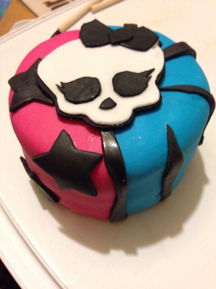 108 Best Cakes Images On Pinterest Monster High Birthday Cake