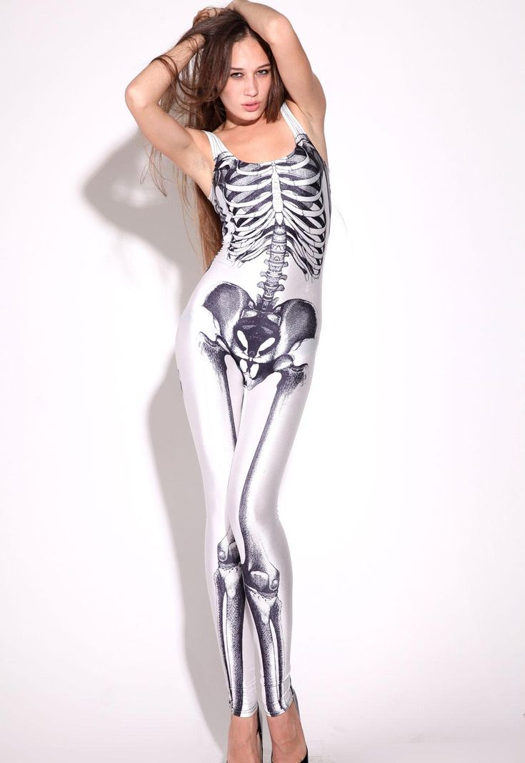 Picture Of A Skeleton Cat