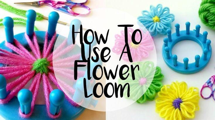 Best 20 Flower Loom Ring ideas on Pinterest   Strickliesel ...