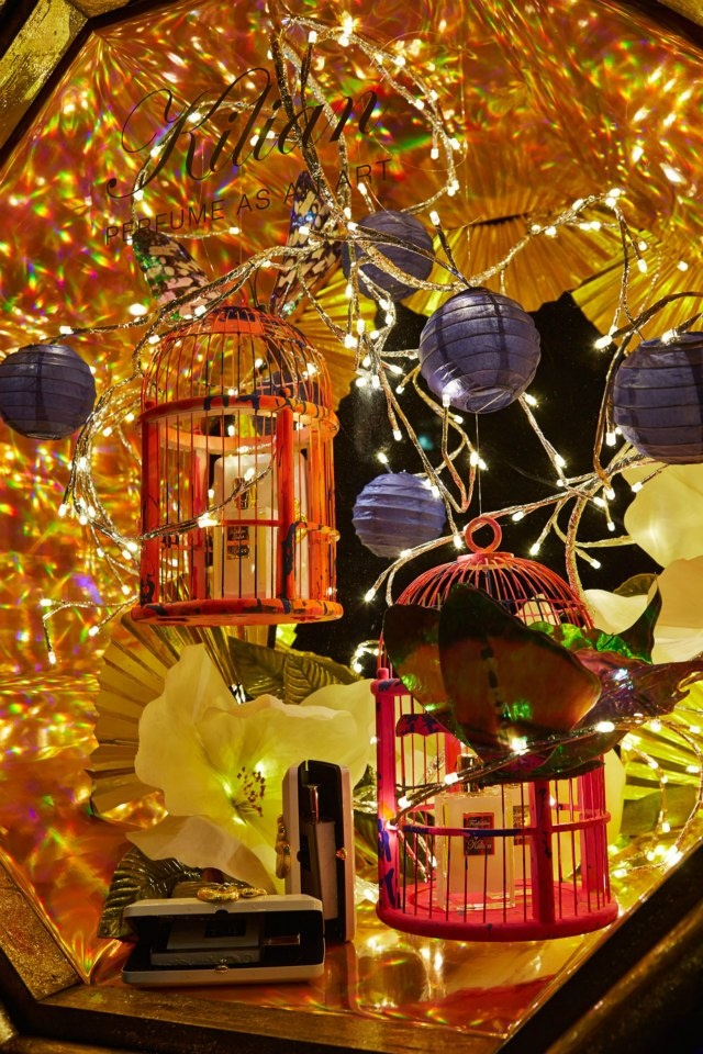 Harvey Nichols Christmas Oriental Window Display 2012
