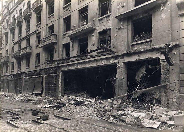 Calle Mayor, Madrid en la Guerra Civil