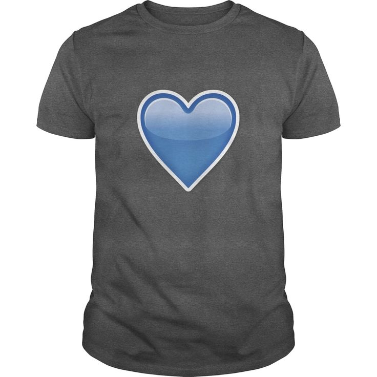 BLUE HEART Emoji shirt, Order HERE ==> https://www.sunfrog.com/Funny/BLUE-HEART-Emoji-shirt-Guys-Dark-Grey.html?89700, Please tag & share with your friends who would love it, #renegadelife #jeepsafari #xmasgifts