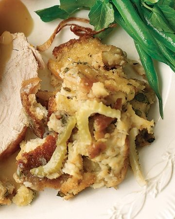 Simple Stuffing Treat this basic stuffing recipe as a base formula for your own personalized creation. In addition to the celery, shallots, and parsley, feel free to add sauteed mushrooms, cooked sausage, herbs, dried fruit, nuts, or any other flavoring components you desire.