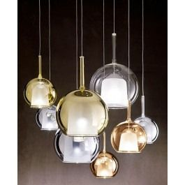 <p><span>The+Small+Glo+pendant+light+was+designed+by+Carlo+Colombo+for+Penta.+The+SmallGlo+pendant+has+a+chromed+metal+structure+with+a+borosilicate+glass+diffuser.+The+SmallGlo+is+available+in+a+transparent,+gold,+silver,+iridescent,+pink-gold,+or+a+black+glass.+The+SmallGlo+pendant+has+a+sandblasted+opal+inner+shade.+There+is+also+a+Mini+and+a+Large+Glo+pendant.</span></p>