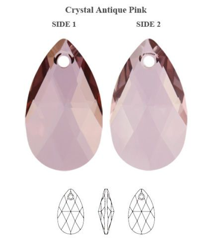 a7c9e7ad3 Genuine SWAROVSKI 6106 Pear Shape Crystal Teardrop Pendants * All Colors &  Sizes | eBay