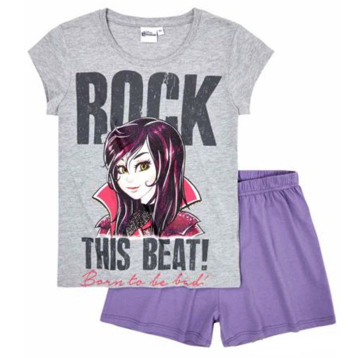 Girls Disney Descendants Short Pyjamas