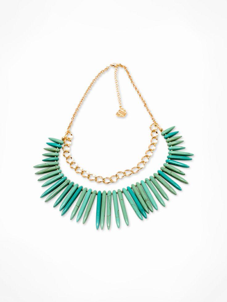 Turquoise Necklace MONKEY ROAD JEWELRY www.monkeyroadjewelry.com