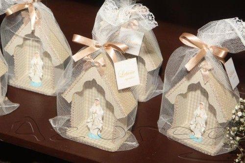 Lindos modelos de lembrancinhas de batizado.