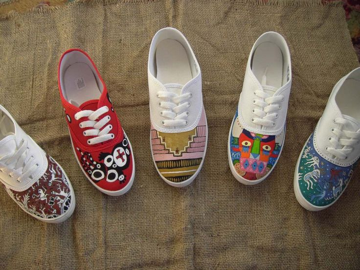 85 Best Zapatillas Pintadas Images On Pinterest Paint