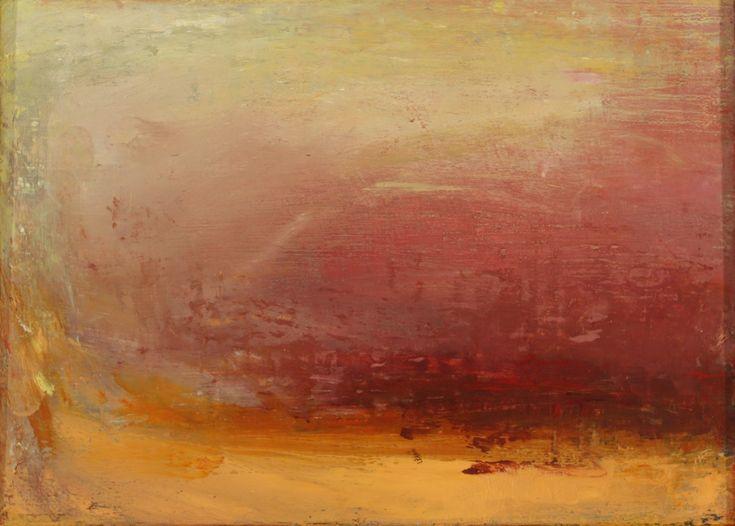 O'Toole, Helen - Tarn oil on linen on board  19.5X14.4 cm