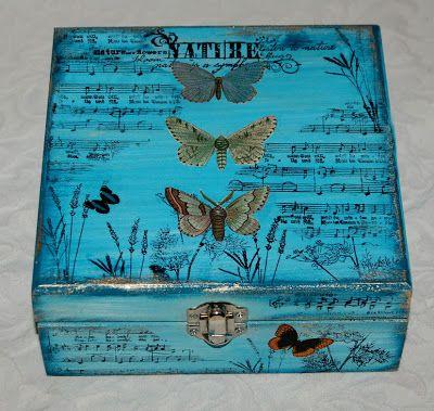 Zuzu's Petals 'n' Stuff: Butterfly Box For Katzelkraft.
