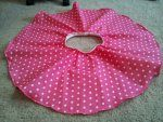 circle skirt for 2t tutorial, with directions to up size