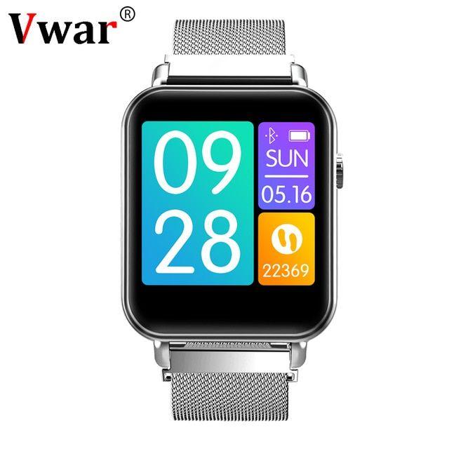 6e11f23b8a1d34 Vwar V66 Smartwatch 1.3 inch TFT Gorilla Glass Blood Pressure Oxygen IP67  Waterproof Activity Tracker Heart Rate Smart Watch P68 Review