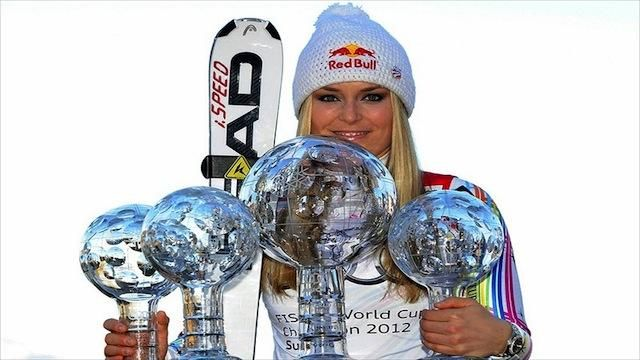 Skier Lindsey Vonn      Soutce: Mitchell Gunn- USA Today  With the 2014 Olympics right around the corner, athletes in the world of snow will begin to emerge next year. Lindsey Vonn is currently taking some time off to heal from an illness but once she's back, her name will be widespread in the skiing world.