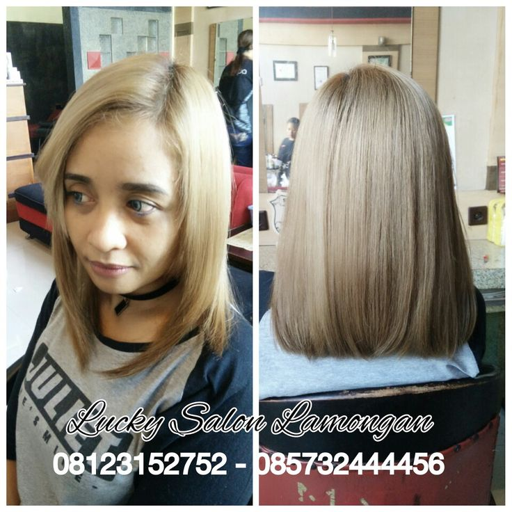 Hair Colour by Totong Lucky Salon Lamon n Indonesia with Matrix...