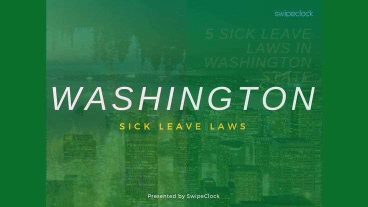 The State of Washington has many sick leave laws including the state-wide law, Tacoma, Seattle, Spokane and SeaTac. This video highlights many of the differe...