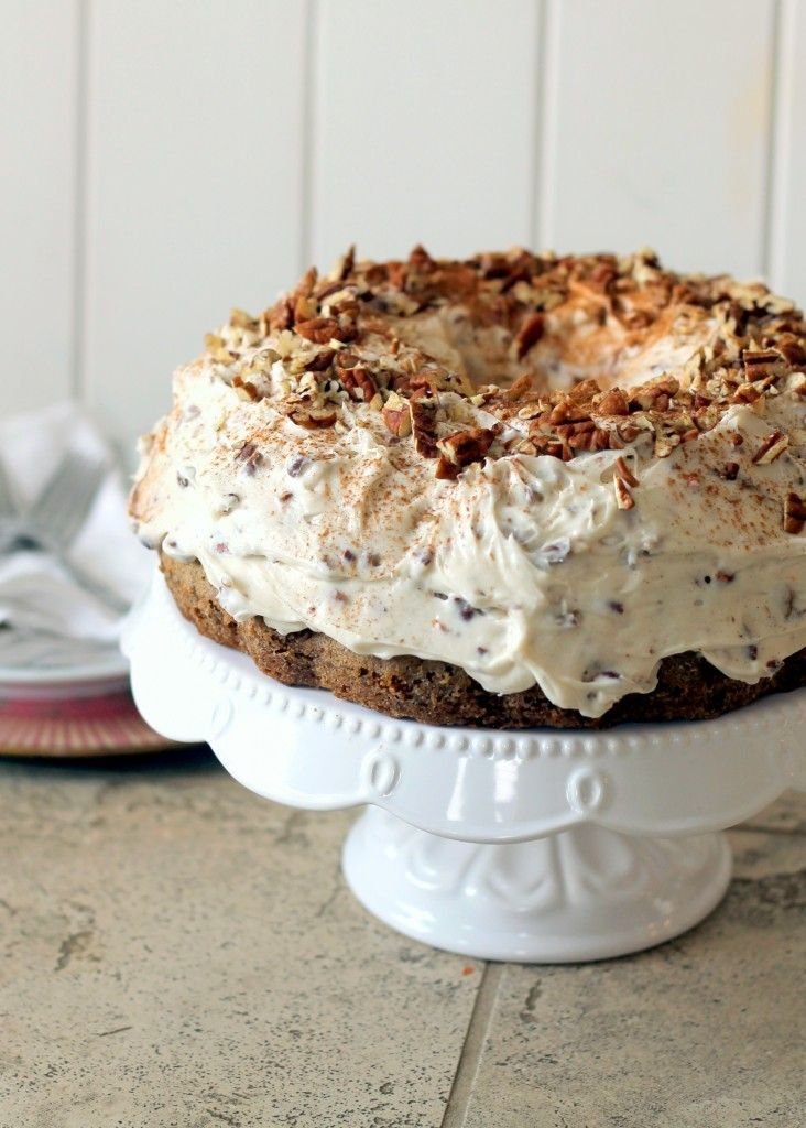 Carrot+Cake+with+Pecan+Cream+Cheese+Frosting
