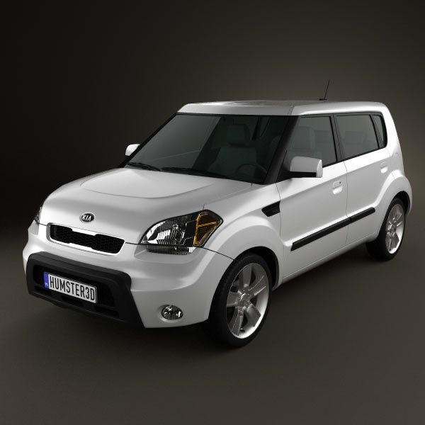 Kia Soul 2010 3d model from humster3d.com. Price: $75
