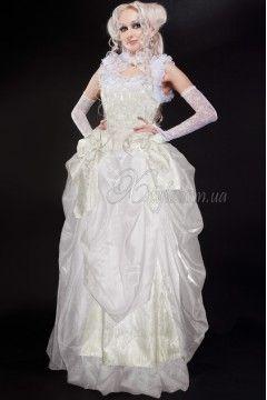 Фото - Свадебное платье в Викторианском стиле