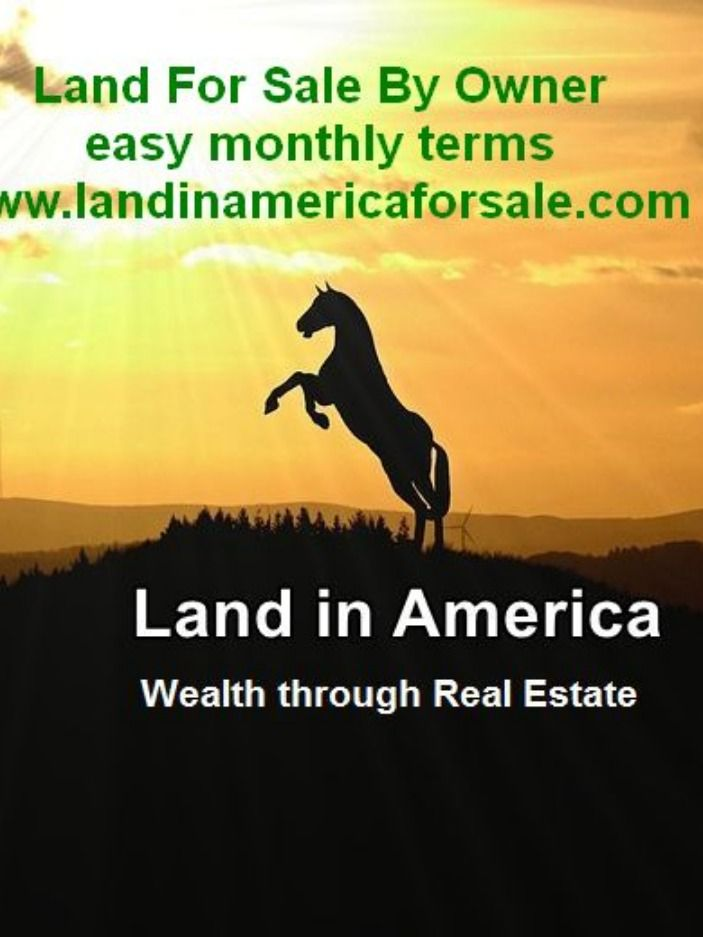 Buy Your Land On Terms Finance Things To Sell Land For Sale