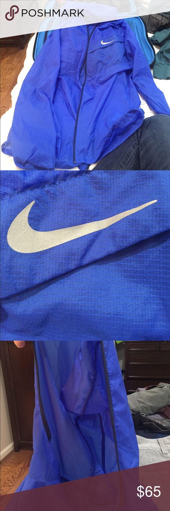 Nike Hurricane Jacket Medium. Like new. Royal blue. Nike Jackets & Coats Performance Jackets
