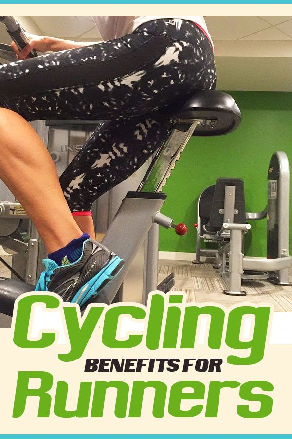Cycling benefits for runners, why it's a great cross training option or when injured for staying on track