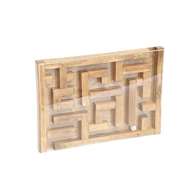 Amish Made Wooden Toy Marble Maze Making Wooden Toys