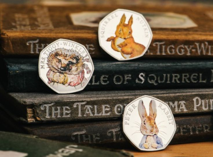 2016 3x50p PETER RABBIT COLLECTION RARE Fifty Pence UNCIRCULATED COINS COLOR SET | eBay