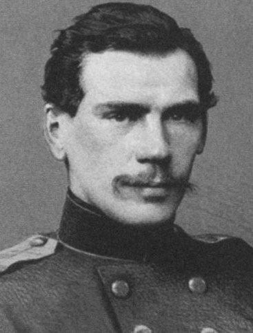 Leo Tolstoy at the age of 28 years. Detail of a photograph. 1856. #Leo_Tolstoy
