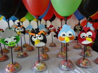 dicas de enfeites aniversário angry birds