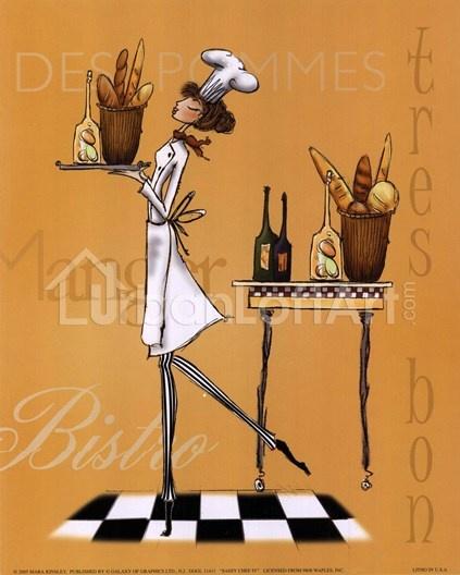 Cuadros De Cocina, Chef