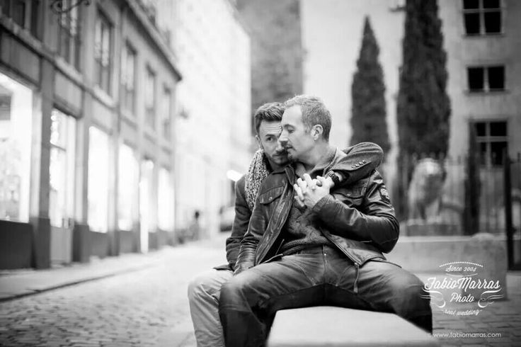 Lyon Gay Engagement | more pictures here: http://www.fabiomarras.com/gay-engagement-foto-di-coppia-gay-same-sex-photo-session-lyon-france/ #engagement #humanrights #marriageequality #equality #gayrights