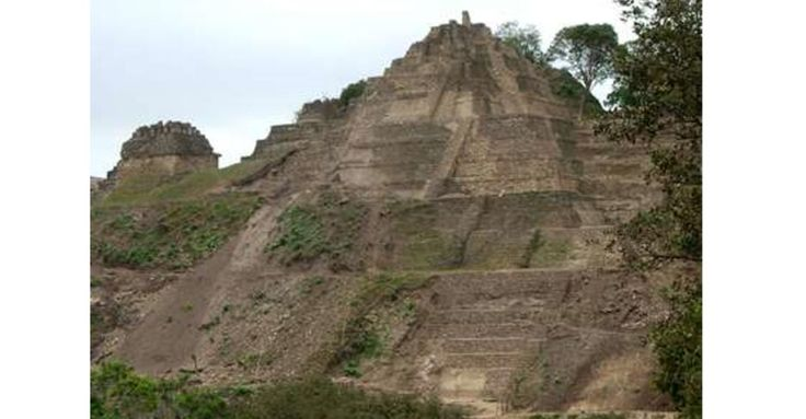 Tonina Pyramid, Largest Pyramid in Mexico