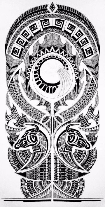 plantillas de tatuajes para el brazo completo