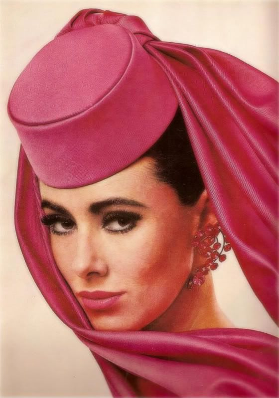 Cover Girl 1962, Maggie Eckhart - Photo by Richard Avedon