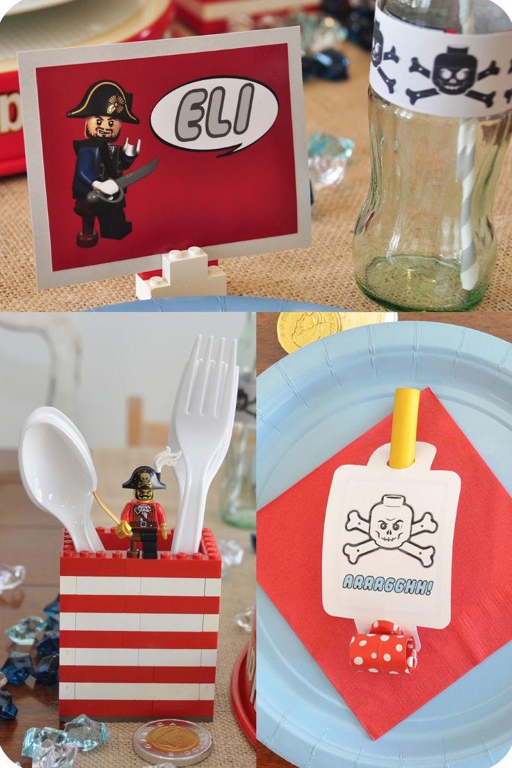 maja.: Pirate LEGO Party