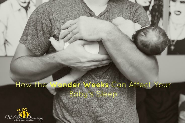 Learn all about how the 10 'Wonder Weeks' that occur throughout your baby's first 2 years of life can affect sleep and what you can do to ensure that there are no negative effects during this mental leaps!