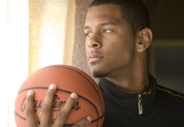 Image detail for -San Diego High School basketball player Jeremy Tyler poses at his ...
