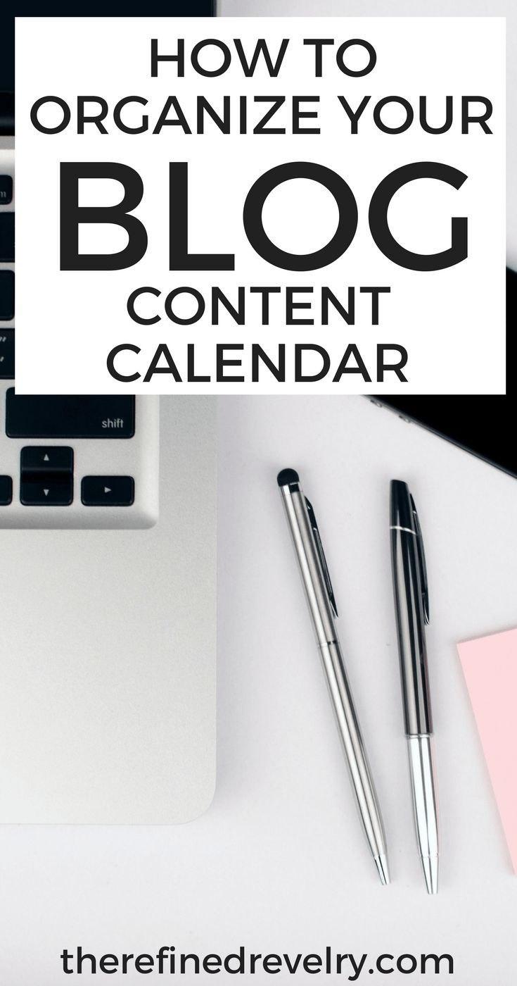 How to Organize Your Blog Content Calendar | Struggling to stay organized with your blog? Here are some great tips for putting together a content calendar to keep you on track! | Blogging, Business, Side Hustle