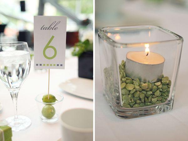 Les 66 meilleures images propos de centre de table sur for Centre de table vert anis