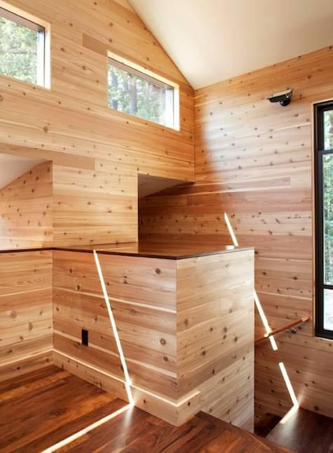 Aptos Retreat by CCS Architecture. reminds me of Finnish saunas...