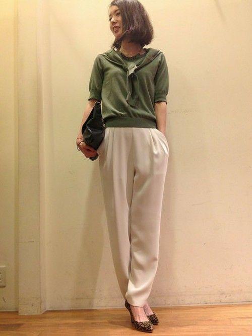 D風に。春夏のファッションアンサンブルコーデ術を集めました!