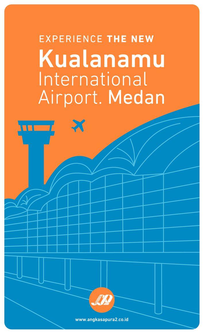 Kualanamu International Airport. Medan. Indonesia