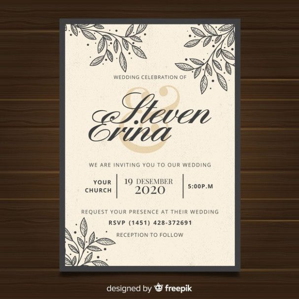 Why You Shouldn 39 T Go To The Vintage Wedding Invitation Template In 2020 Vintage Wedding Invitations Templates Wedding Invitation Vector Vintage Wedding Invitations