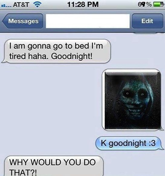 Funny text - Good night - http://www.jokideo.com/